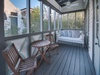 2nd Floor Master Suites' Private Balcony - Featuring a Porch Swing