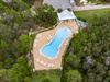 Aerial View of the Zero Entry Community Pool