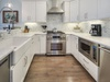 Kitchen - Equipped with Stainless Steel Appliances & Farmhouse Sink