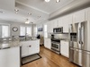 Kitchen Complete with Stainless Steel Appliances