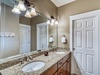 1st Floor Master Ensuite - Equipped with a Dual Vanity