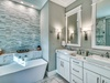 Master Ensuite - Equipped with a Dual Vanity