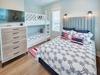 2nd Floor Bunk Room - Queen Size Bed & Twin over Twin Bunk Bed