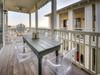 3rd Floor Balcony - Furnished with Dining Area with Seating for Six