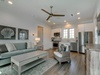 Carriage House has a Open Concept Living & Kitchen