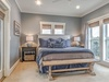 3rd Floor - Master Suite - Furnished with a King Size Bed