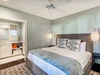 1st Floor Master Suite - Furnished with a King Size Bed