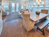 Dining Area - Large Table Seating for up to Eight