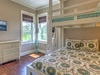 2nd Floor Bunk Room - Furnished with Twin over Queen Bunk Bed