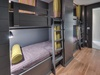 2nd Floor Bunk Room - Furnished with Two Twin over Twin Bunk Beds