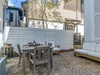 Private Courtyard - Furnished with Dining for Four