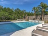 Soak in the Summer sun next to the private pool