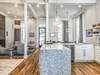 Kitchen - Enhanced with Subway Tile & Marble Countertops