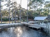 Private dock & large spacious back yard