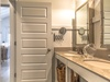 1st Floor Guest Bathroom - Featuring a Dual Vanity