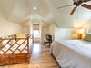 2nd Floor Master Suite - Equipped with a Flat Screen TV