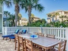 Dining Poolside with Seating for Eight