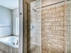 Master Ensuite - Featuring a Walk-in Shower and Soaking Tub