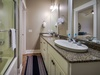 2nd Floor Master En Suite - Featuring a tub-Shower Combo & Dual Vanities