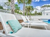 Bask in the Sun Poolside in one of the many Loungers