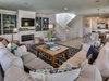 2nd Floor- Living Area - Plush Sectional Sofa &  Flat Screen TV
