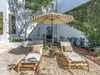 Private Courtyard - Furnished with Two Loungers