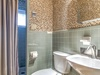 Carriage House Guest Bathroom - Featuring a Walk In Shower