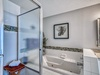 Master En Suite - Featuring a Jetted Soaking Tub and Walk-in Shower