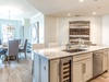 Kitchen - Featuring a Wine Cooler