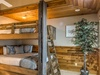 Carriage House Bunk Room - Queen over Queen Bunk Bed with Trundle