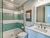 3rd Floor Bunk Room En Suite - Glass Enclosed Shower & Single Vanity