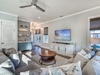 Living Room - Featuring a Wet Bar with Wine Cooler