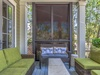 Front porch with cozy outdoor furnishings