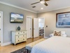 2nd Floor Master Suite - Fit with a Large Flat Screen TV