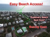 Aerial View of Beachy Keen - Offering Effortless Beach Access