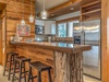 Carriage House Kitchen - Seating for Three at the Breakfast Bar