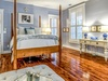 1st Floor Master Suite - Furnished with a Queen Size Bed