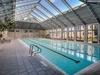 Keep Warm in Winter in the Heated Sky Pool