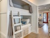 2nd Floor Landing - Furnished with a Twin Over Twin Bunk Bed.