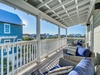 3rd Floor Balcony - Furnished with Plush Over-sized Chairs