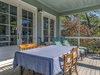 Front Screened-in Porch - Furnished with Loungers & Dining Area