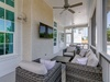 Outdoor TV on Screened in Porch