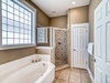 2nd Floor Master Ensuite - Featuring a Soaking Tub and Walk-in Shower
