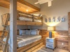 Carriage House Bunk Room - Furnished with a Twin over Twin Bunk Bed