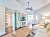 Living Room - Access to 2 Queen Bedrooms