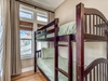 2nd Floor Master Suite - Also Furnished with a Twin over Twin Bunk Bed
