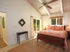 Queen Guest Bedroom and outside Lanai