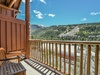 Sit back and relax and enjoy the mountain view from the balcony