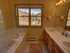 Bathroom with amazing view