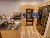 Nice open kitchen with plenty of space perfect for making all your favorite foods